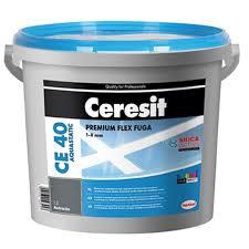 Elastingas glaistas siūlėms Ceresit CE40, almond brown, 5 kg