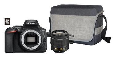 Nikon D5600 AF-P DX 18-55mm VR + Card 16GB + Bag