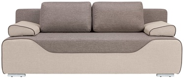 Sofa-lova Black Red White Gaja Beige, 210 x 93 x 87 cm