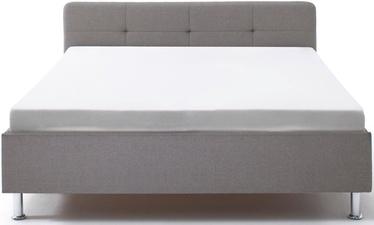 Кровать Meise Möbel Amelie Metal Base, серый, 200x140 см