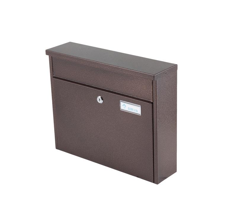Pašto dėžutė Glori Ir Ko PD967 Bronze, 370x98x292 mm