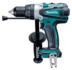 Makita DHP458Z Drill Keyless Black/Blue
