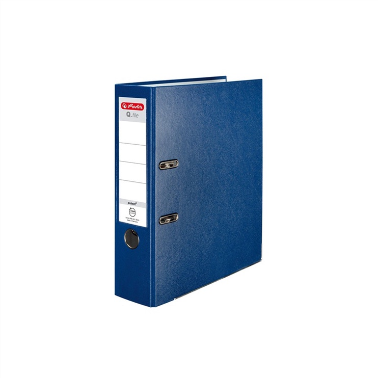 Registraator Herlitz 11167418, A4, 8cm, sinine