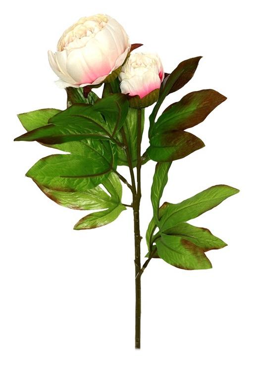 Искусственный цветок 8025.10, белый