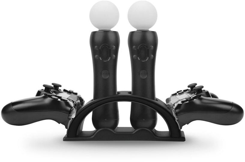 Зарядное устройство Hama 4-Way Charging Station for PS4/PS VR