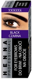 Venita Paint For Eyebrows 15g Black