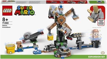 Конструктор LEGO Super Mario Дополнительный набор «Нокдаун резноров» 71390, 862 шт.