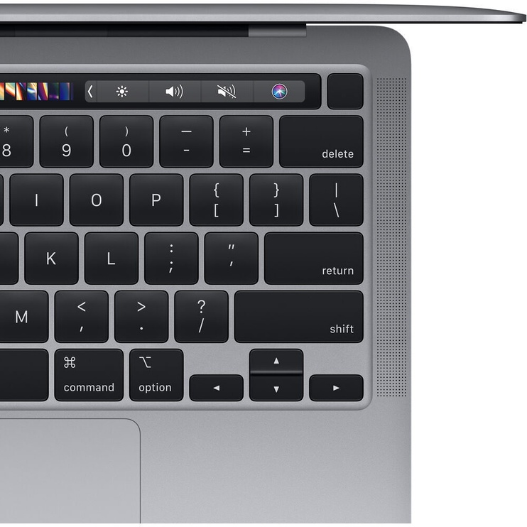 Ноутбук Apple MacBook Pro Retina with Touch Bar / M1 / ENG / Space Grey M1, 8GB/256GB, 13.3″