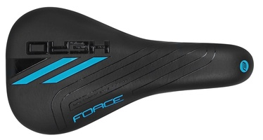 Force Hero Junior Saddle Black/Blue