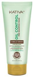 Kaukė plaukams Kativa Oil Control Pre-shampoo, 200 ml