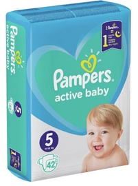 Pampers Active Baby-Dry S5 42