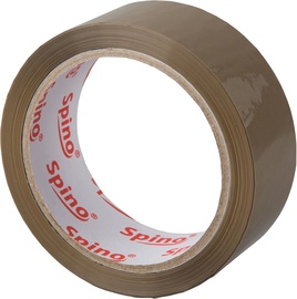 Spino Universal Packaging Tape 66m Brown
