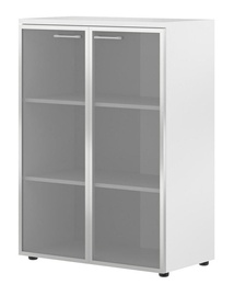 Biuro spintelė Skyland Xten XMC 85.7 White, 85.6x119x43.2 cm