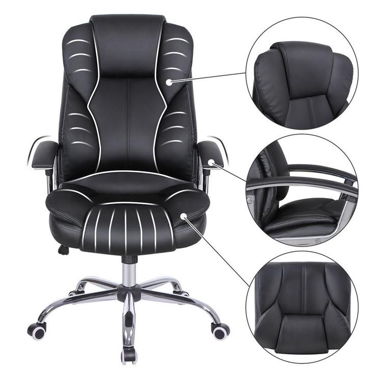 Офисный стул Songmics OBG57BUK, черный