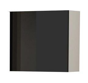 Cama Meble Vigo Square Cabinet White/Black Gloss
