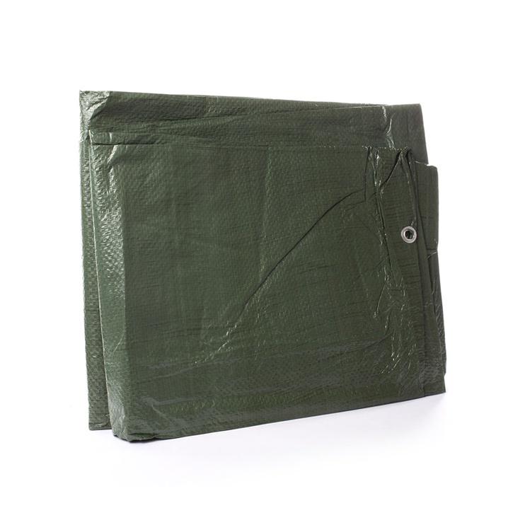 Брезент Okko, зеленый, 3000x5000 мм