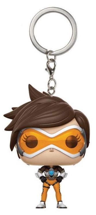 Funko Pop! Pocket Keychain Overwatch Tracer