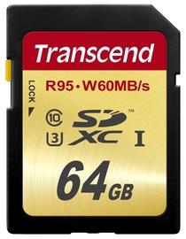 Transcend 64GB SDXC UHS-I U3 Class 10