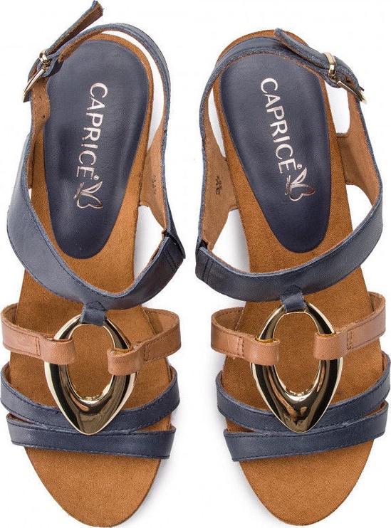 Basutės, Caprice Sandals Ocean Cognac, 37.5