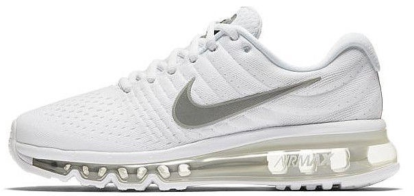 Nike Sneakers Air Max 2017 GS 851622-100 White 36.5