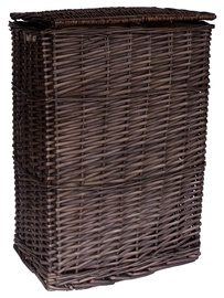 Home4you Max Basket 38x27xH52cm Dark Brown