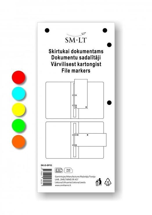 SMLT Document Divider 100pcs Asorti