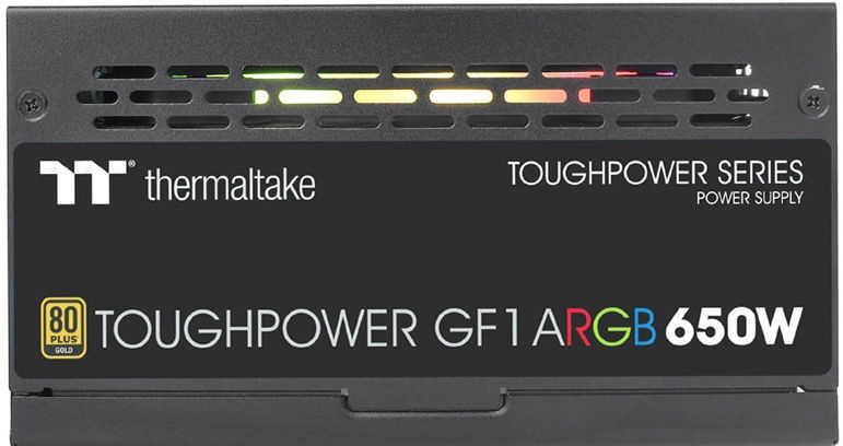 Thermaltake ToughPower GF1 A-RGB 80 Plus Gold 650W