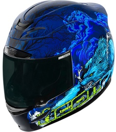Icon Helmet Am Thriller Blue M