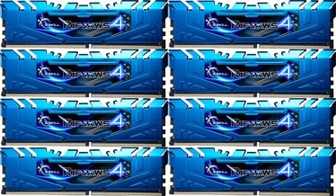 G.SKILL RipJaws 4 Blue 2666MHz CL16 DDR4 KIT OF 8