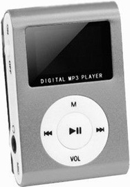 Setty MP3 Super Compact Music Player Grey