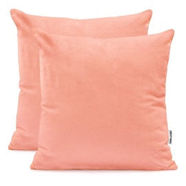 Наволочка DecoKing Amber Pillowcase Peach 50x50 2pcs