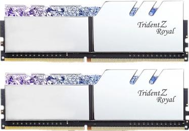 G.SKILL Trident Z Royal Silver 16GB 3200MHz CL16 DDR4 KIT OF 2 Series F4-3200C16D-16GTRS