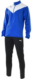 Puma Essentials Pro Poly Tracksuit Blue Black L