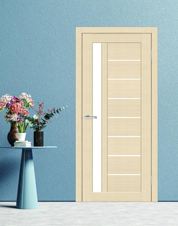 Полотно межкомнатной двери PerfectDoor Cortex 09, серый/дубовый, 200 см x 60 см x 4 см