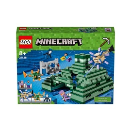 Konstruktorius LEGO Minecraft The Ocean Monument 21136