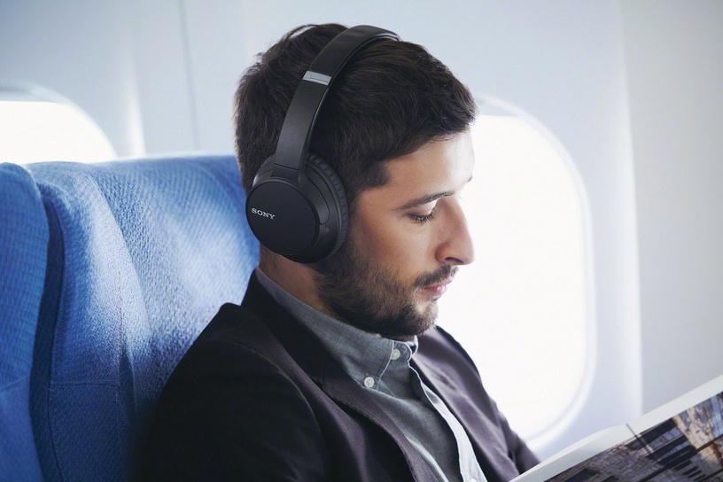 Belaidės ausinės Sony WHCH700NB