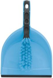 York Clip Azur Dustpan & Brush