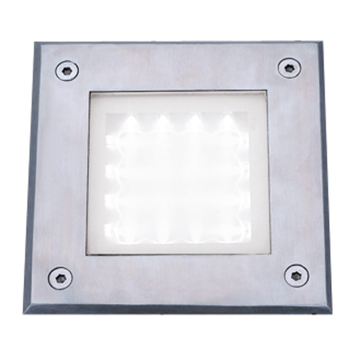 Searchlight 9909WH LED 16x0.6W Recessed Square Walkover Light