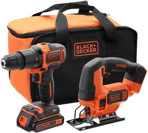 Black & Decker BCK22S1S-QW 18V Combination Set