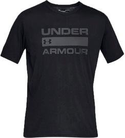 Under Armour Team Issue Wordmark Graphic T-Shirt 1329582-001 Black L