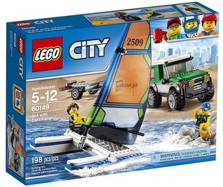 LEGO City 4x4 With Catamaran 60149