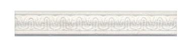 Keraminės dekoruotos sienų juostelės Laurito, 25 x 4 cm