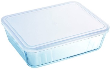 Pyrex Cook & Freeze With Plastic Lid 19x14x4cm/0.8L