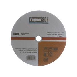 Lõikeketas Vagner 230x2.0x22,23mm, Inox