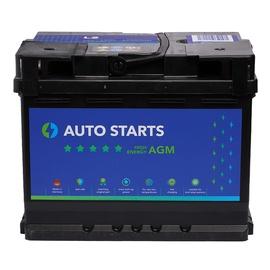 Аккумулятор Auto Starts High Energy AGM, 12 В, 60 Ач, 680 а