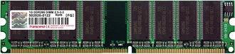 Operatyvioji atmintis Transcend 1GB 400MHz CL3 DDR TS128MLD64V4J