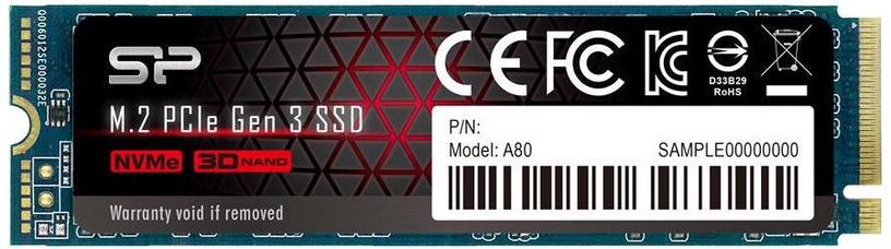 Silicon Power P34A80 2TB M.2 NVMe PCIe Gen3×4
