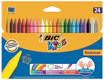 BIC Kids Plastidecor 24pcs 829772