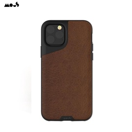 Mous Air-Shock Extreme Protection Back Cover Case for iPhone 11 Pro Brown