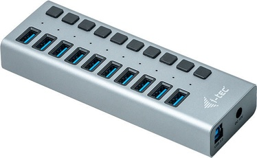 i-Tec USB 3.0 10-Port Hub + Power Adapter 48W